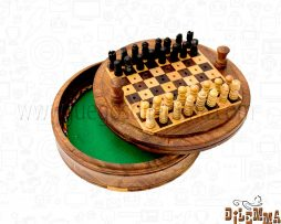 ajedrez redondo de 4
