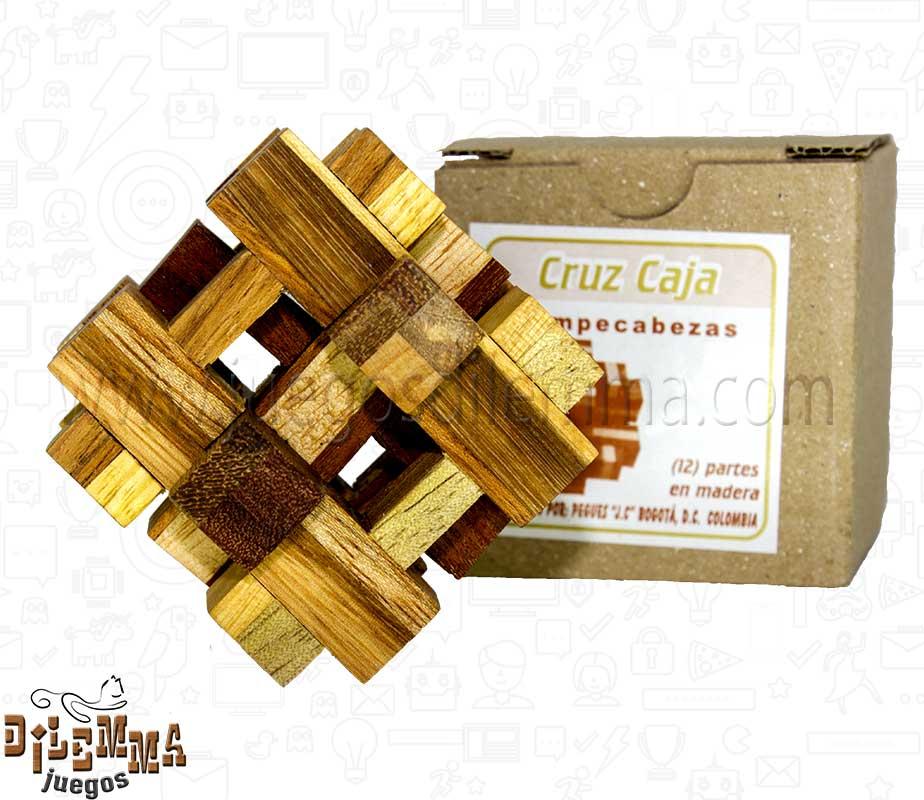 Rompecabezas cruz caja juegos dilemma - Caja rompecabezas ...