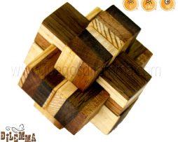 rompecabezas cruz griega de 6 piezas
