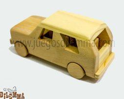 camioneta en madera