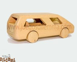 camioneta vans en madera