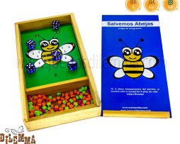 caja de juego de abejas