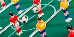 Historia del futbolin
