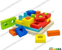 bloques de encajar geométricos