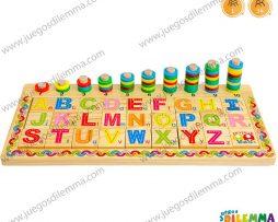 Ábaco con Letras y Números
