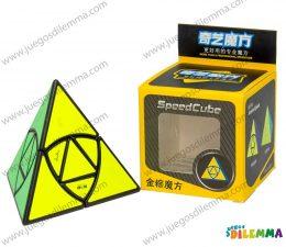 Cubo Rubik Pyraminx Coin Ancient Tetraedro