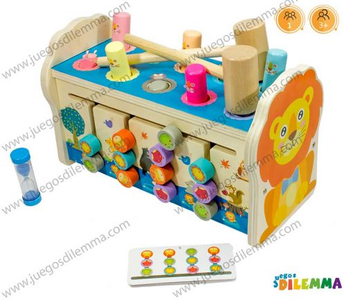 Caja Multifuncional de León Montessori