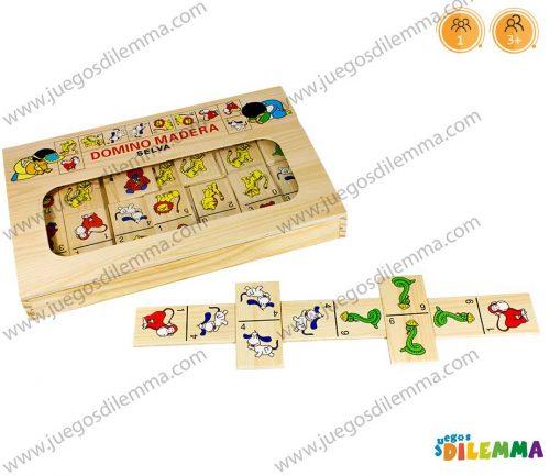 Domino Didáctico Infantil