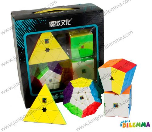 Set Cubos Rubik Moyu Profesional